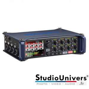 Zoom F8 Mixeur Enregistreur audio